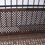 Reutiliza!: De celosía a cabecero / Reuse!: From lattice to headboard