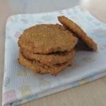 Galletas para bebés con 3 ingredientes – 3 Ingredient teething biscuits